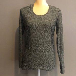 Lululemon Grey longsleeve activewear top size 10